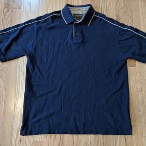 Woolrich navy blue polo shirt